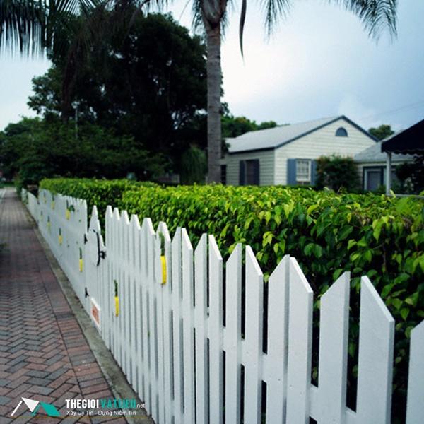 Ưu điểm của hàng rào gỗ trang trí SCG Smartwood