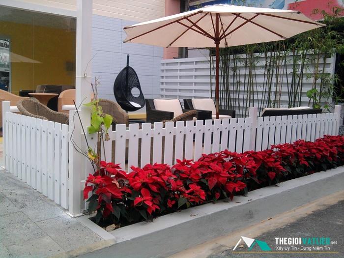 Hàng rào gỗ trang trí Smartwood có gì khác biệt?