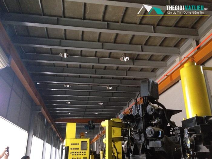 tấm Cemboard thi công nâng tầng nhà xưởng