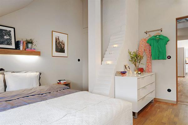 Thiết kế gác xép đẹp cho căn hộ nhỏ
