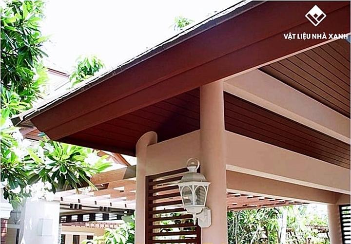 Tính năng nổi trội của diềm mái gỗ Smartwood Eave