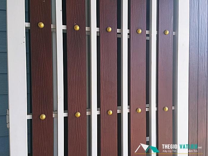 hàng rào gỗ smartwood scg thái lan