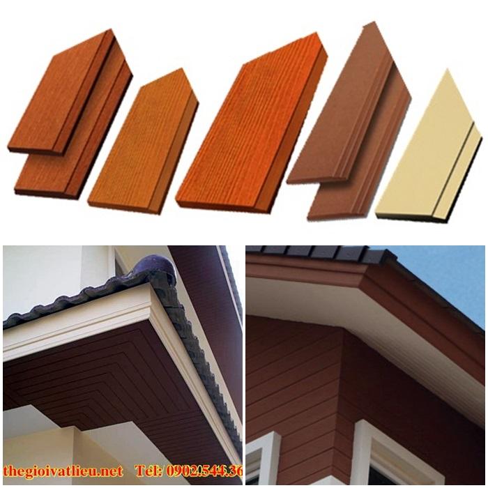 Cấu tạo diềm mái gỗ trang trí Smartwood