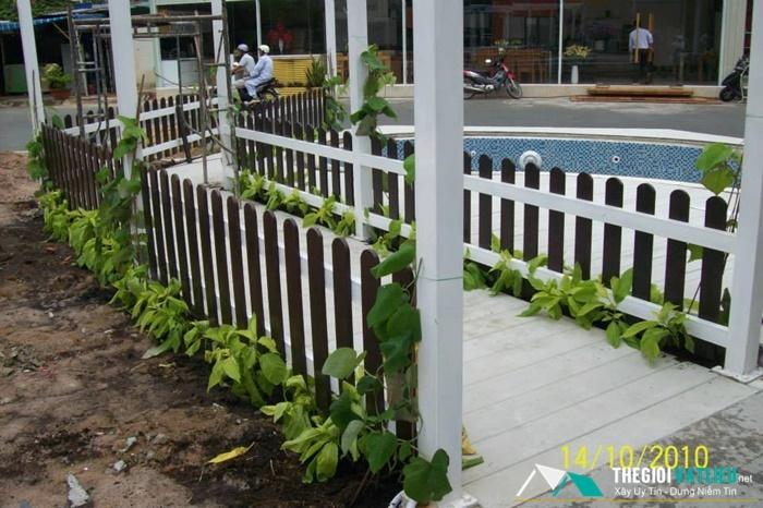 Đặc tính của hàng rào gỗ ngoài trời Smartwood SCG Thái Lan