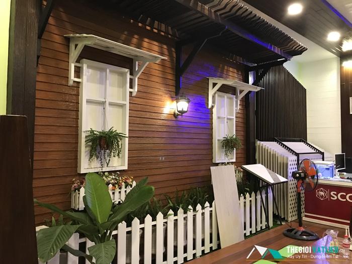 Giá gỗ Smartwood SCG Thái Lan làm tường