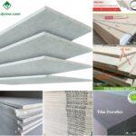 Tấm xi măng sợi Cellulose ốp tường lót sàn giá rẻ siêu bền