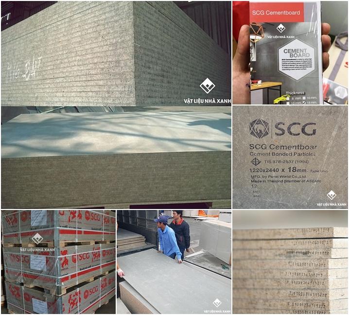 Giá tấm xi măng dăm gỗ Cement Board bao nhiêu?
