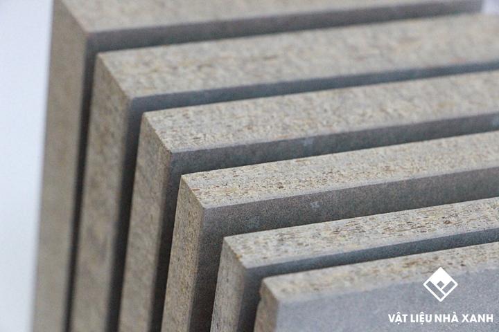 Tấm Xi Măng Dăm Gỗ Cement Board Làm Sàn Trần Vách