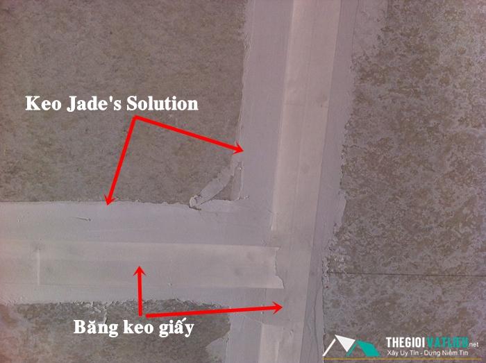 keo xử lý mối nối Jade Solution tấm cemboard