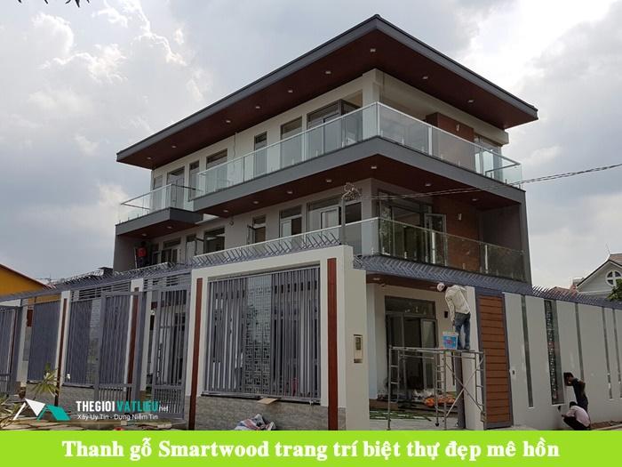 Gỗ ốp tường Smartwood SCG Thái Lan