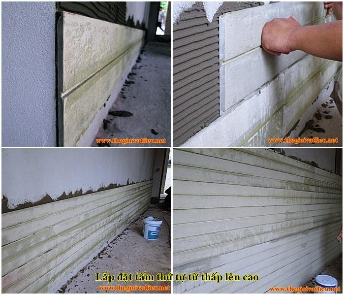Hướng dẫn thi công gỗ ốp tường Smartwood Thái Lan