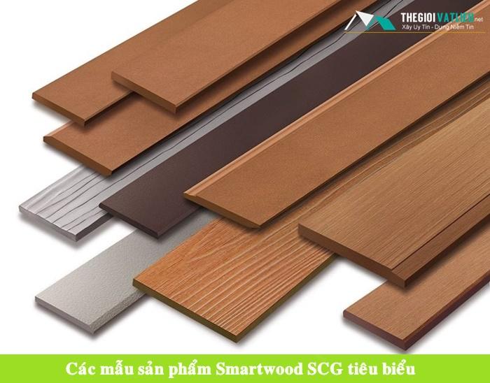 Tấm xi măng giả gỗ ốp tường Smartwood