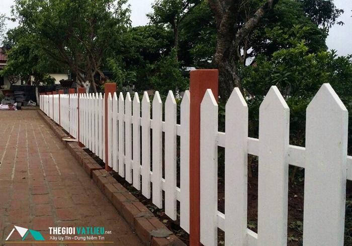 Ưu điểm nổi bật của hàng rào gỗ nhân tạo SCG Smartwood