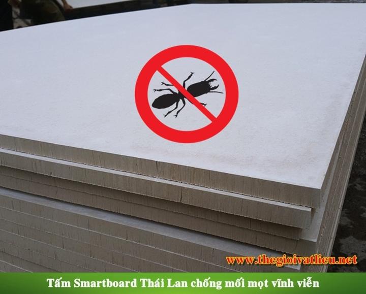 Tấm Smartboard chống mối mọt