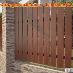 Công trình hàng rào gỗ