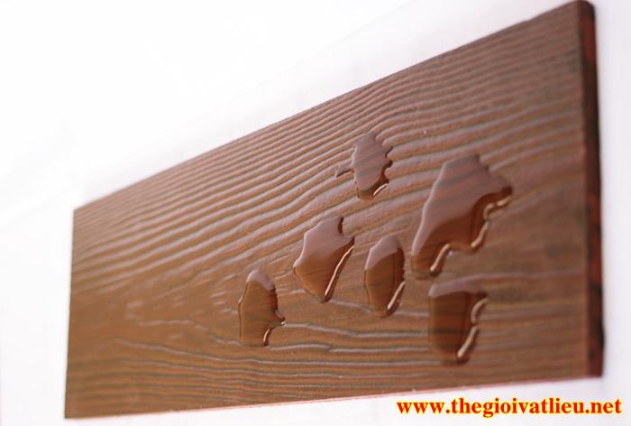 Sơn PU Giả Gỗ Cao Cấp Lotus Trang Trí Tường, Trần, Sàn