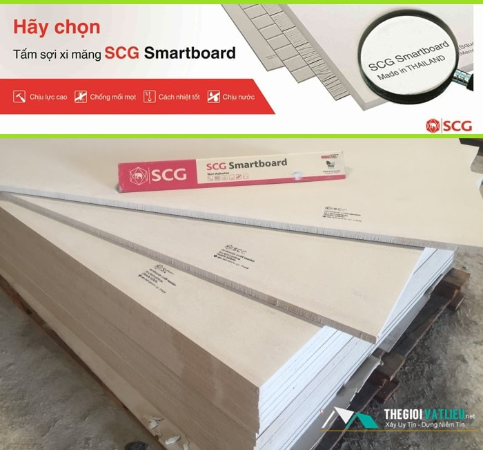 Báo Giá Tấm Smartboard SCG Thái Lan