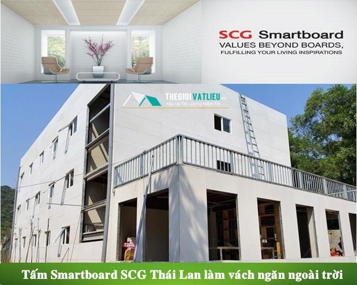 Giá tấm xi măng Smartboard SCG Thái Lan sỉ và lẻ tại Hà Nội