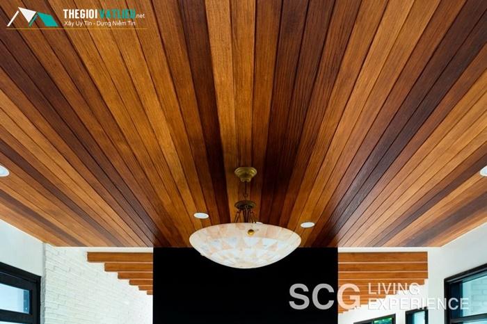 Tại sao gỗ ốp trần Smartwood được ưa chuộng?