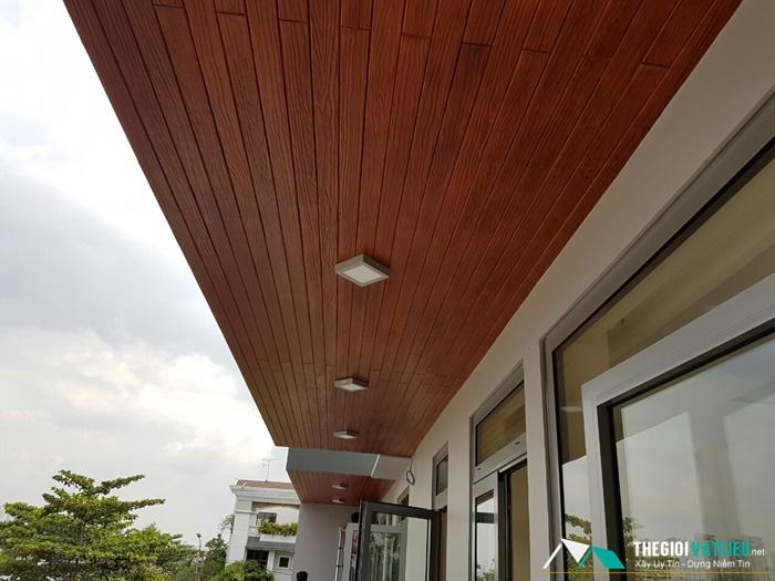 Gỗ ốp trần nhà Smartwood SCG Thái Lan