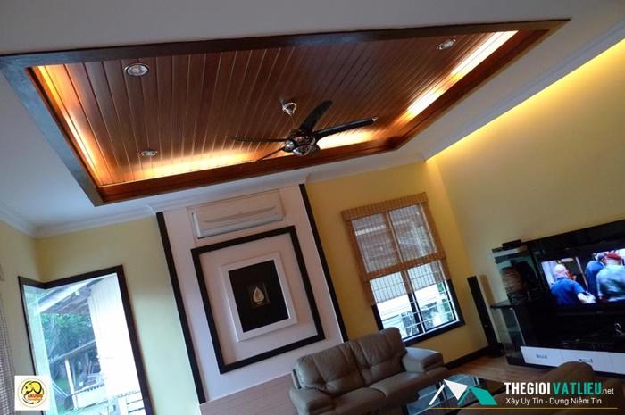 Gố ốp trần nhà Smartwood giá bao nhiêu?