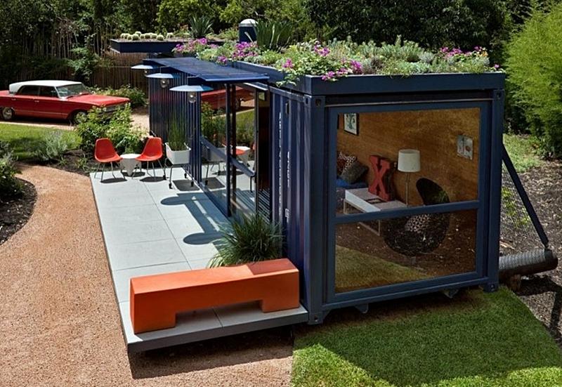 Làm nhà container bằng vật liệu nhẹ giá rẻ