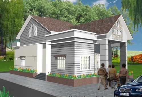 Xây dựng nhà cấp 4 với vật liệu giá rẻ