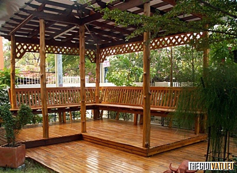 Sàn gỗ sân vườn Smartwood