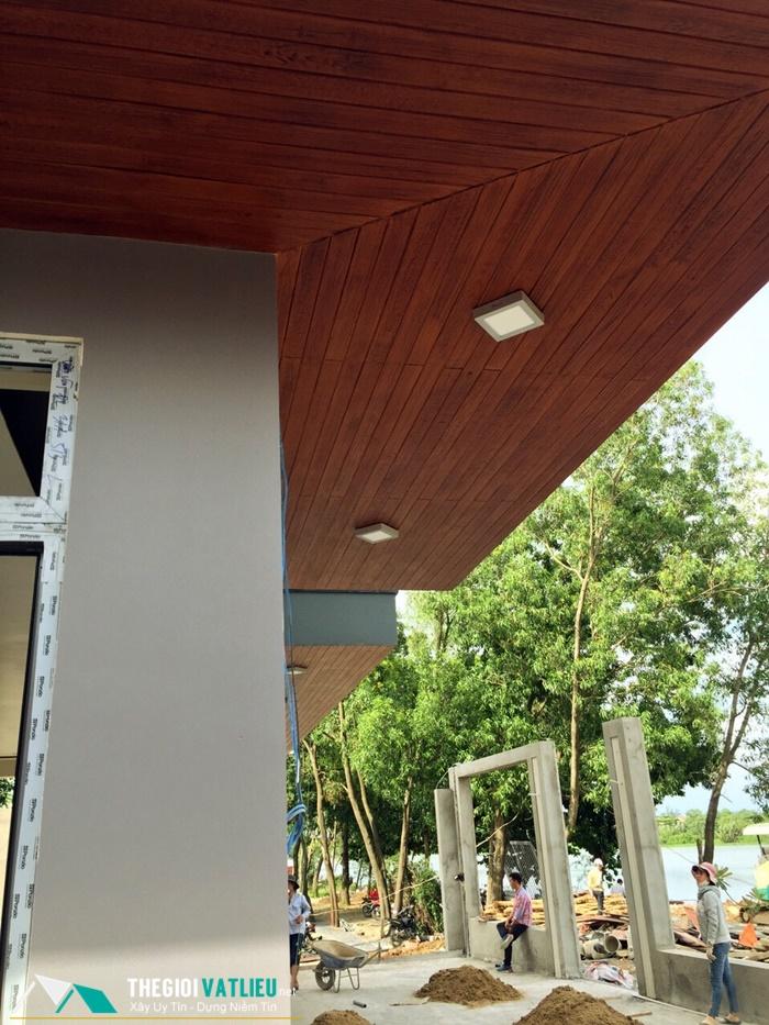 bảng giá gỗ ốp trần nhà