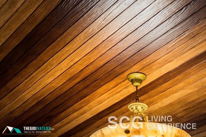 gỗ ốp trần nhà giá rẻ