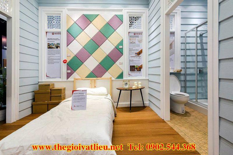 Vật liệu ốp tường chống ẩm chống nóng