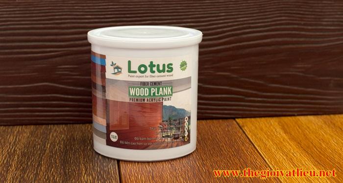 Sơn giả gỗ cao cấp gốc nước LOTUS