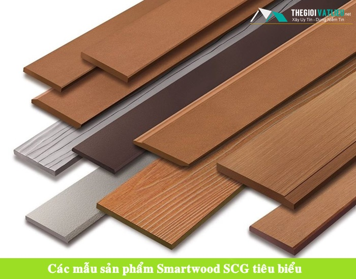Ứng dụng tiêu biểu của thanh xi măng giả gỗ Smartwood Thái Lan
