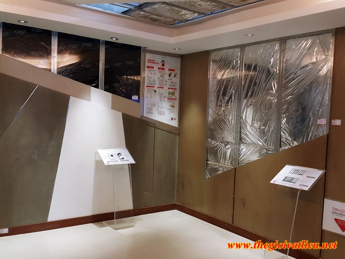 Tấm SCG Smartboard thay thế cho tường gạch