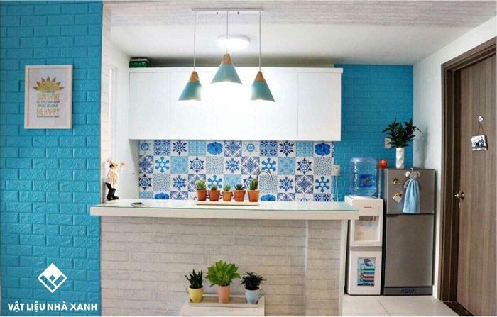 tạo nét nổi bật cho nhà bếp
