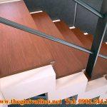 Thanh gỗ ốp cầu thang Smartwood
