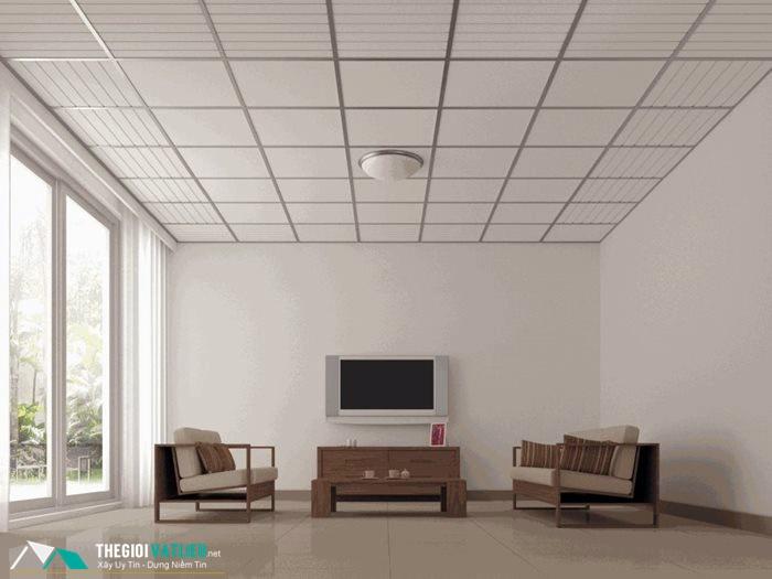 Ý tưởng thiết kế trần nhà đẹp