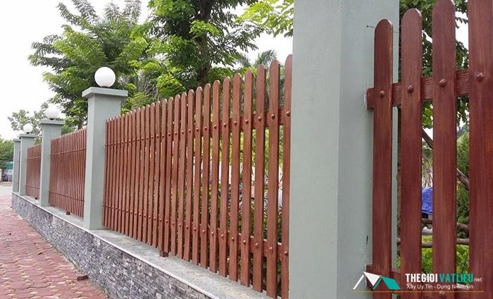 Địa Chỉ Bán Hàng Rào Gỗ Giá Rẻ tại Tphcm