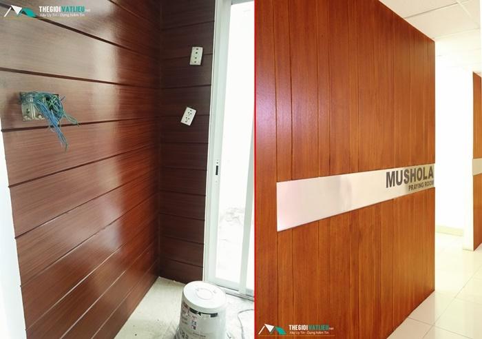 Tấm ốp tường ngoài trời Smartwood Thái Lan