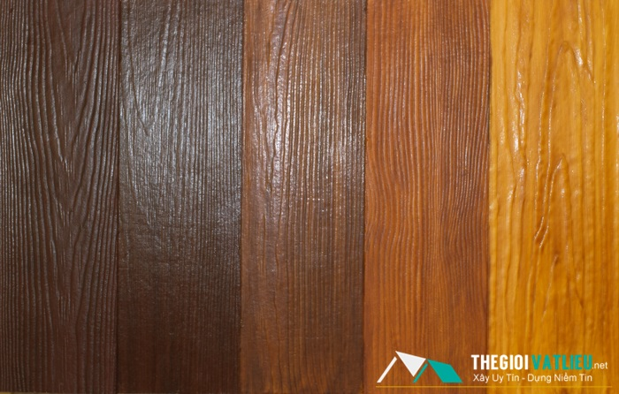 Tấm ốp tường giả gỗ ngoài trời Smartwood