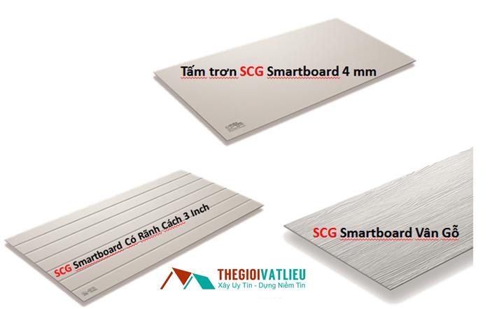 Tấm sợi xi măng SCG Smartboard