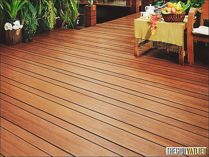 Tại sao nên sử dụng vật liệu lót sàn giả gỗ thay gỗ tự nhiên?