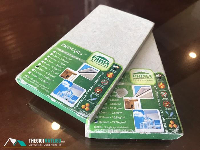Tấm Prima Malaysia làm sàn vách trần