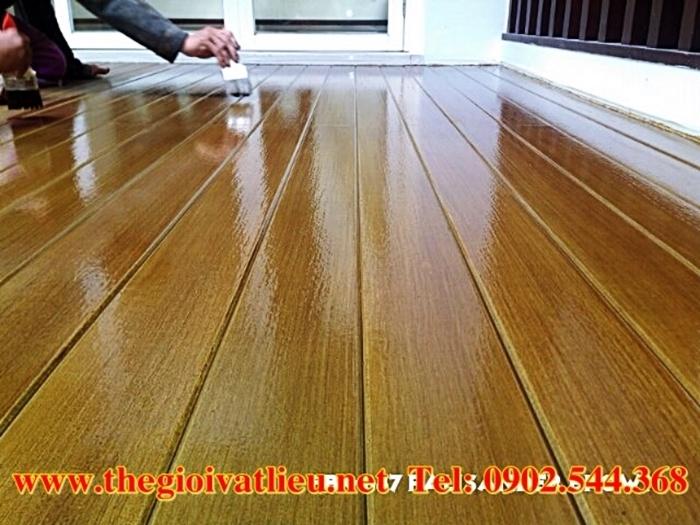 Sơn bê tông giả gỗ Lotus chất lượng cao giá rẻ