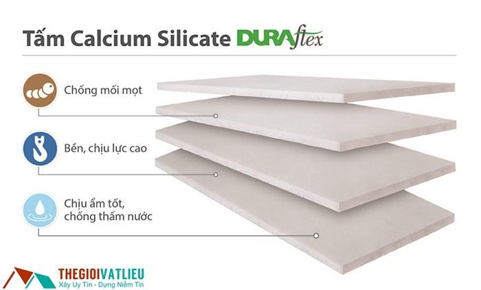 tấm calcium silicate duraflex