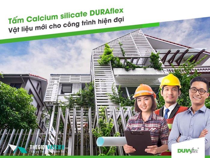 Tấm calsium silicat duraflex