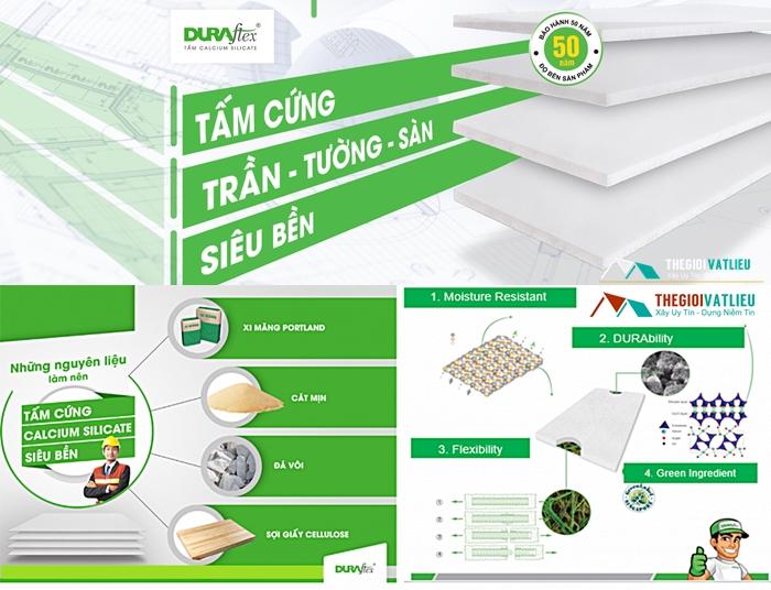 Tấm Duraflex lót sàn chịu lực cao giá rẻ