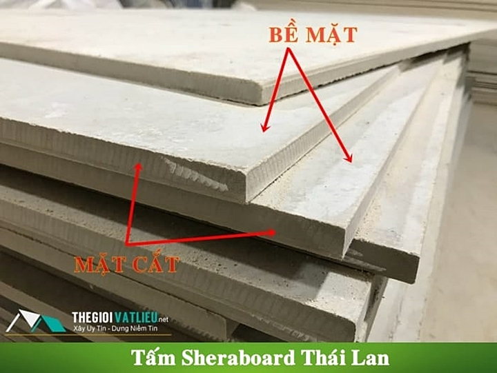 Tấm Shera Board Thái Lan của tập đoàn Mahaphant