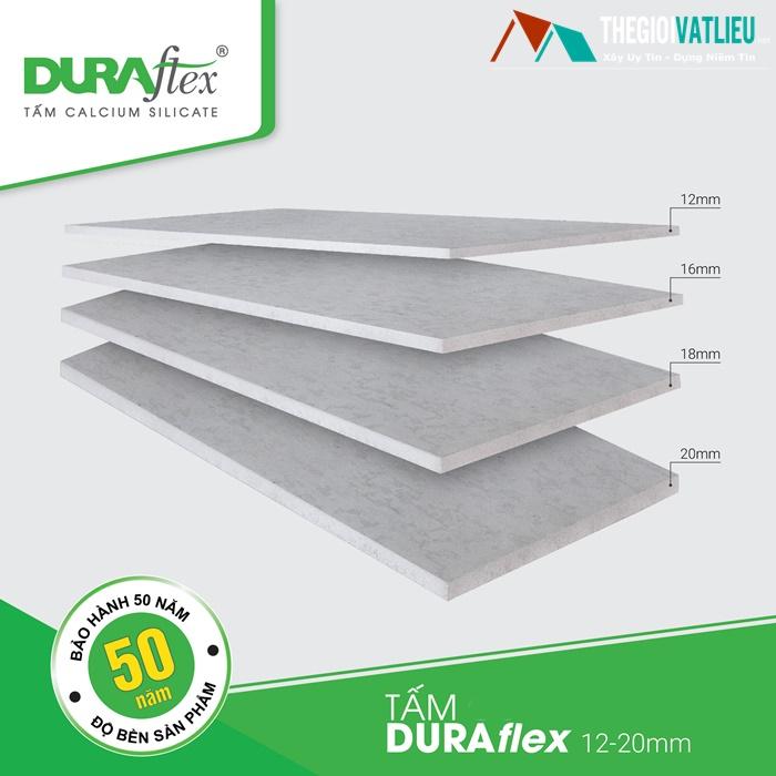 Giá tấm Duraflex làm sàn trần vách ngăn