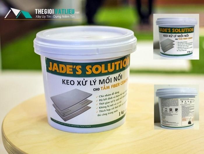 keo jade's solution xử lý mối nối